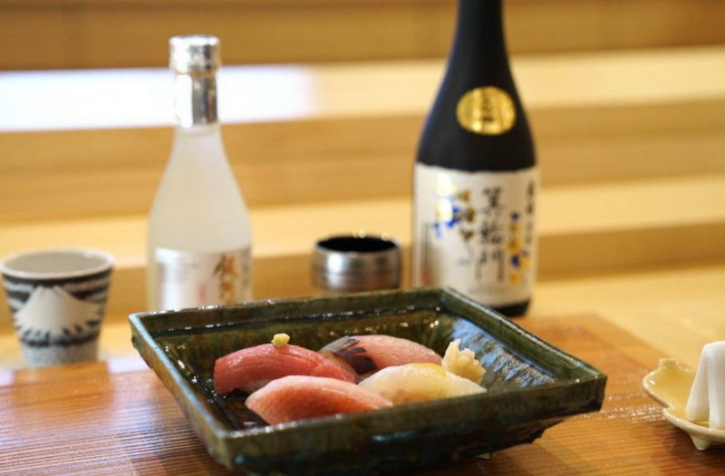 Photo for: What To Eat With Sake